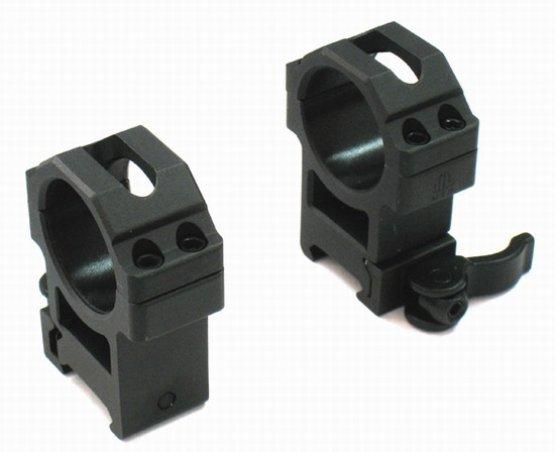 Кольца UTG быстросъемные (высокие, диаметр 30 мм)