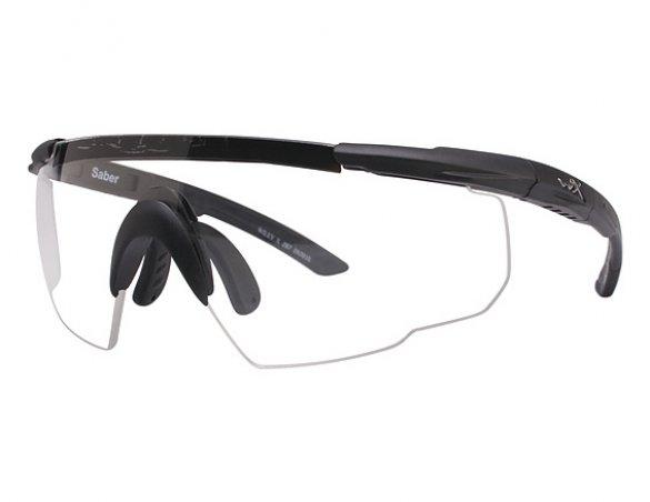 Очки баллистические Wiley X Saber (прозрачные линзы)
