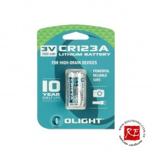 Батарея Olight CR123A (3.0V 1600mAh)