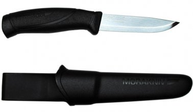 Нож Morakniv Companion stainless steel черный