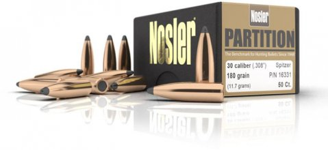 Пуля Nosler Partition PPT .30 180 gr (11,66 г) 50 шт