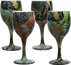 Набор бокалов Riversedge для вина Camo Wine Glasses